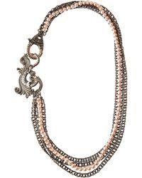 Stephen Webster Rose Pearl Multistrand Necklace - Lyst