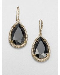 ABS By Allen Schwartz - Faceted Drop Earrings - Lyst