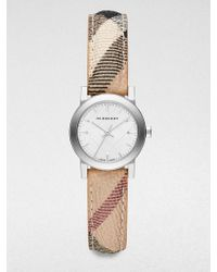 Burberry Stainless Steel Round Watch/26Mm - Lyst