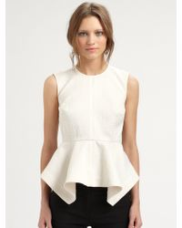 Elizabeth And James Yumi Embossed Top - Lyst