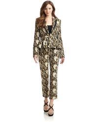 Just Cavalli - Leopard Print Suit - Lyst