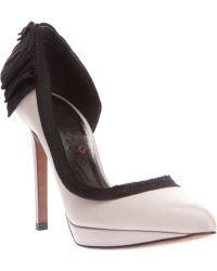Lanvin Pointed Toe Pumps - Lyst