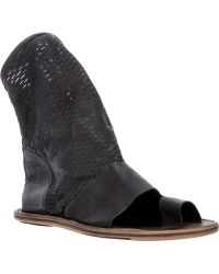 Lost & Found - Single Toe Perforated Boot - Lyst