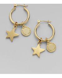 Marc By Marc Jacobs -  Friends Star Hoop Earrings - Lyst