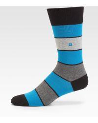 BOSS Orange - Thick Striped Socks - Lyst