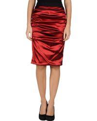 Dolce & Gabbana Knee Length Skirts - Lyst