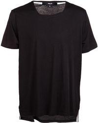 General Idea - Square Collar Tshirt - Lyst