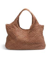 Massimo Palomba - Sajima Woven Leather Hobonut - Lyst