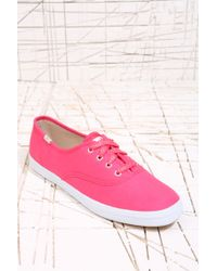 Pro Keds - Keds Champion Plimsolls in Seasonal Pink - Lyst