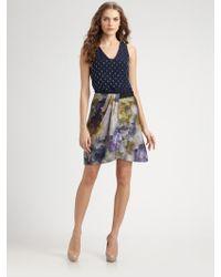 Sachin & Babi Onepiece Silk Dress - Lyst