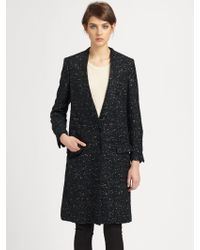 Surface To Air - Long Wool Coat - Lyst