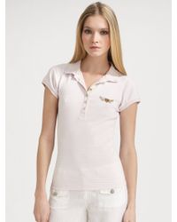 Twisted Heart - Heart Wings Polo Shirt - Lyst