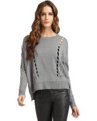 Aro - Cutout Sweater - Lyst