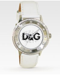 Dolce & Gabbana - Prime Time Stainless Steel Strap Watch - Lyst