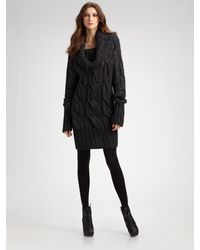 McQ by Alexander McQueen Megacable Sweater Dress - Lyst