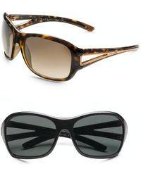 Prada - Cutout Wrap Sunglasses - Lyst