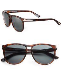 Tom Ford Callum Sunglasses brown - Lyst