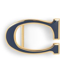 C. Wonder Enamel Letter Belt Buckle - Lyst