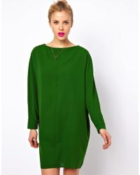 ASOS Collection | Shift Dress with Batwing Sleeve | Lyst