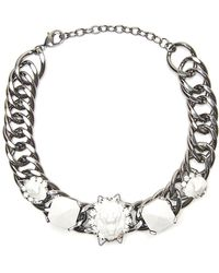 Fenton - Lion and Eagle Choker - Lyst