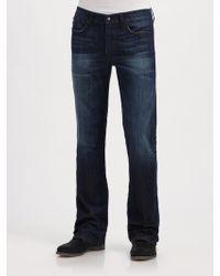 Joe's Jeans Santiago Rocker Bootcut Jeans - Lyst