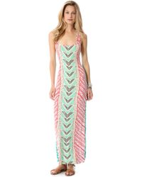 Mara Hoffman Luau Cover Up Dress - Lyst