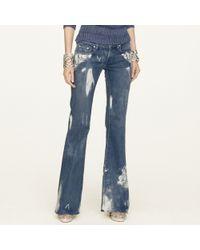 Ralph Lauren Black Label 106 Flared Jeans - Lyst