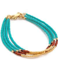 Shashi - Blaire Bracelet - Lyst