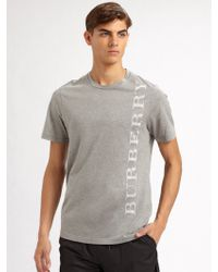 Burberry Sport - Graphic Tee - Lyst