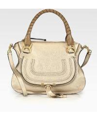 Chloé Marcie Small Satchel Bag - Lyst