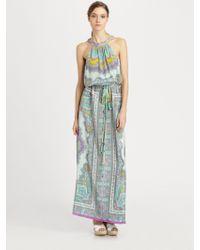 Nanette Lepore Beach Lover Silk Dress - Lyst
