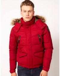 Horace - Schott Quilted Short Jacket - Lyst