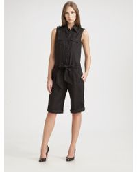 Weekend by Maxmara - Attore Linen Jumpsuit - Lyst