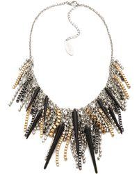 Adia Kibur - Spike Crystal Necklace - Lyst