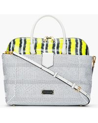 Marc By Marc Jacobs White Leather Whitney Double Trouble Anemone Bag - Lyst