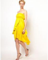 Sophia Kokosalaki - Kore By Strapless Tiered Dress - Lyst