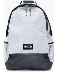 Kris Van Assche - Heather Grey Leathertrimmed Backpack - Lyst