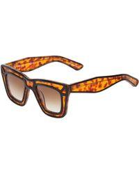 Ksubi Tortoiseshell Sunglasses - Lyst