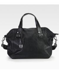 McQ by Alexander McQueen Redchurch Perforated Shoulder Bag - Lyst
