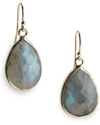 Nunu - Faceted Labradorite Drop Earrings - Lyst