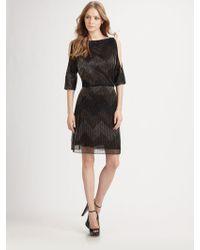 Alice + Olivia Catalina Cutout Dress - Lyst
