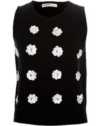Clements Ribeiro - Embellished Tank - Lyst