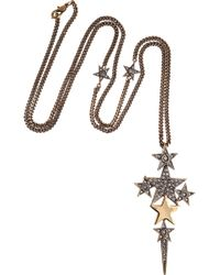 Emilio Pucci - Crystal -Embellished Star Necklace - Lyst