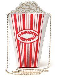 Charlotte Olympia Movie Night Clutch - Lyst