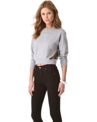 Cheap Monday Laura Sweatshirt - Lyst