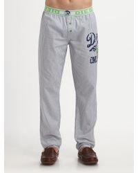 Diesel White Lounge Pants - Lyst