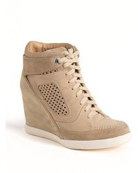 French Connection - Marla Hiddenwedge Hitop Trainers - Lyst