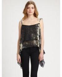 Grayse - Floral Silk Camisole - Lyst
