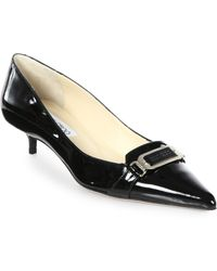 Jimmy Choo Valet Patent Leather Pumps - Lyst