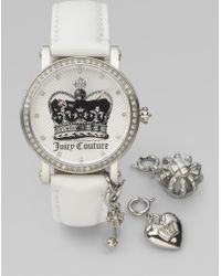 Juicy Couture J Couture Interchangeable Charm Watch - Lyst